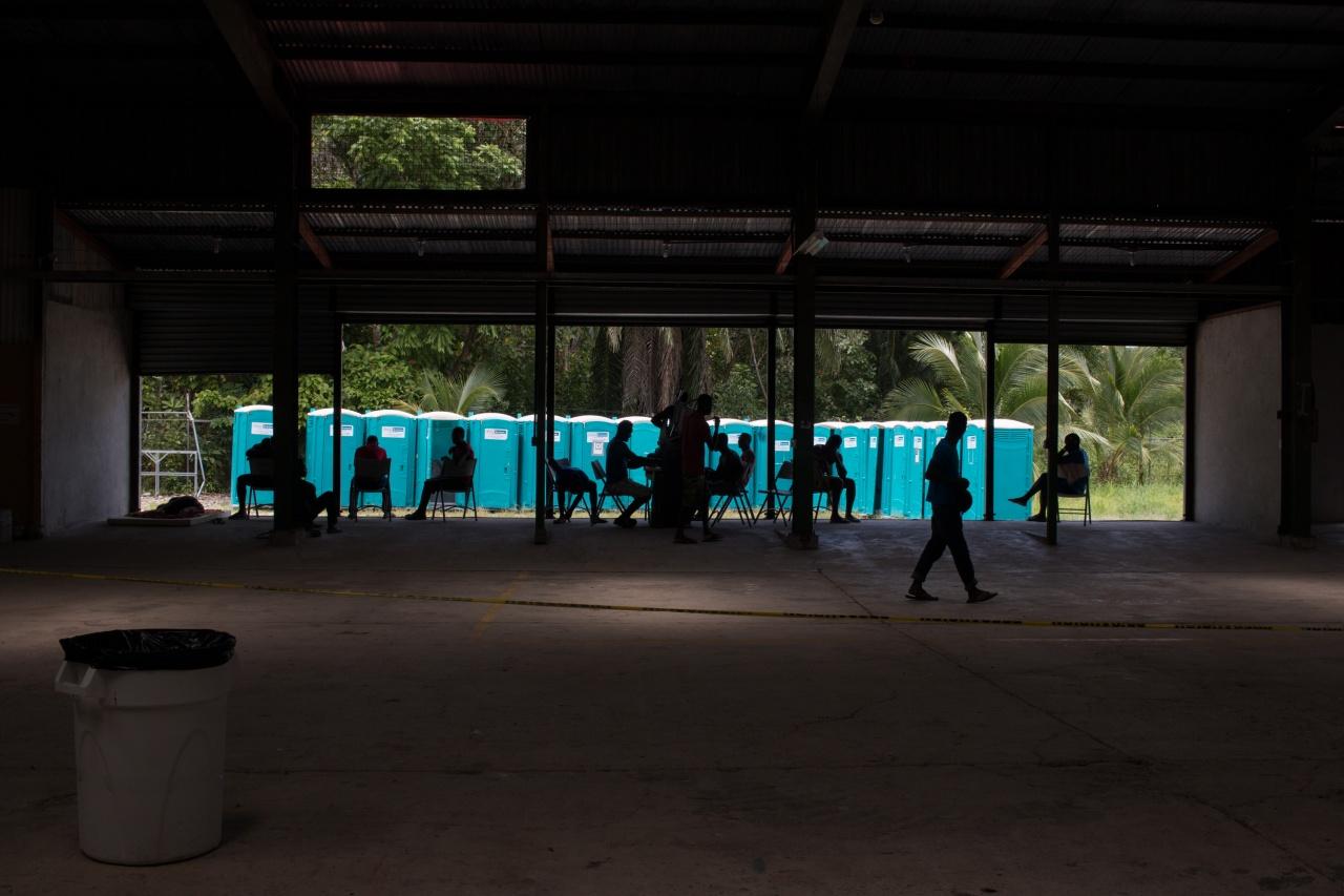 Migrants on South Border, Costa Rica 2016