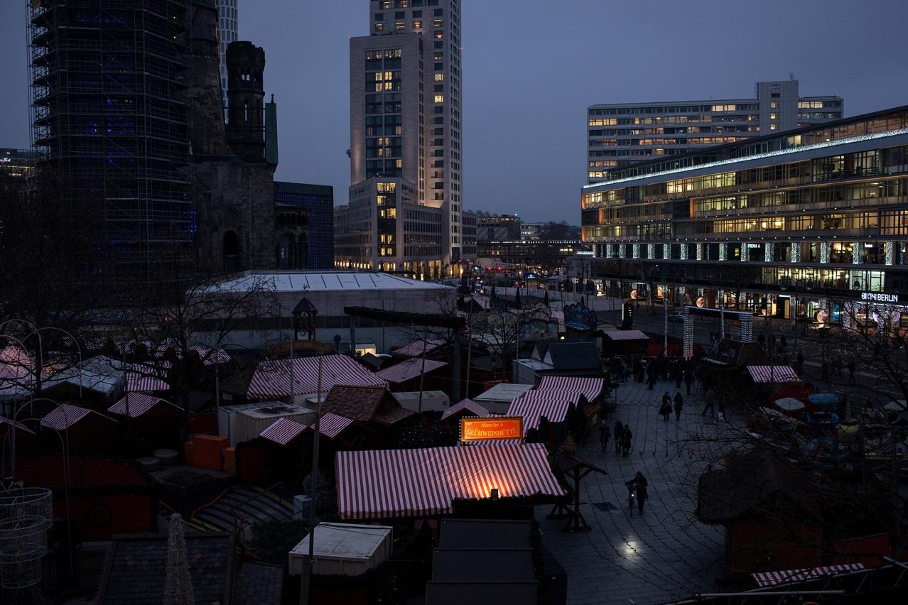 Berlin Breitscheidplatz Christmas Market