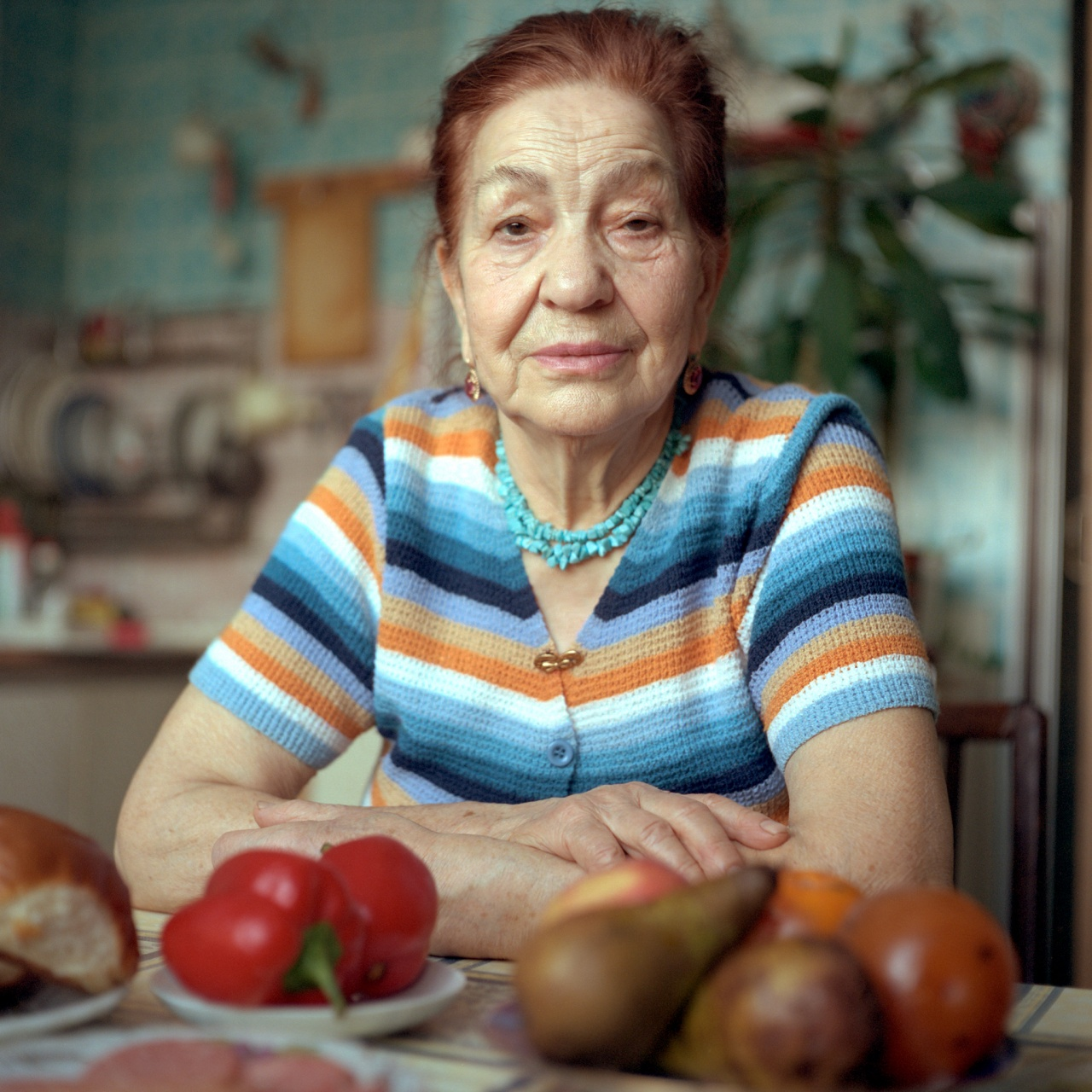 Russian women at home