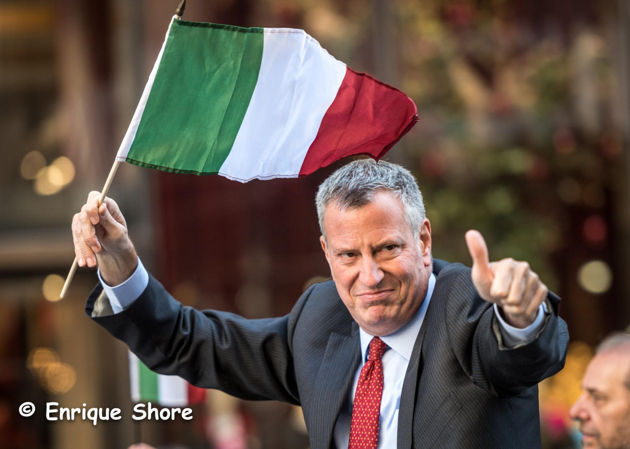 New York Major Bill de Blasio
