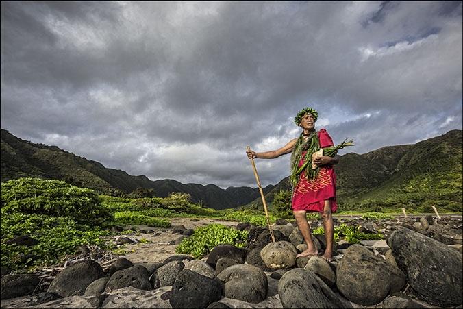 Anakala Pilipo Solatorio, Halawa Valley, Molokai