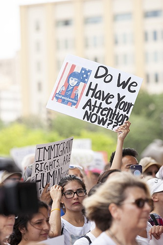 Families Belong Together Rally Dallas Tx 063018