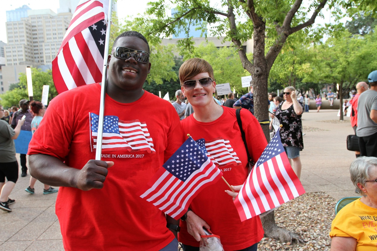 Anti Racism Rally Dallas Texas