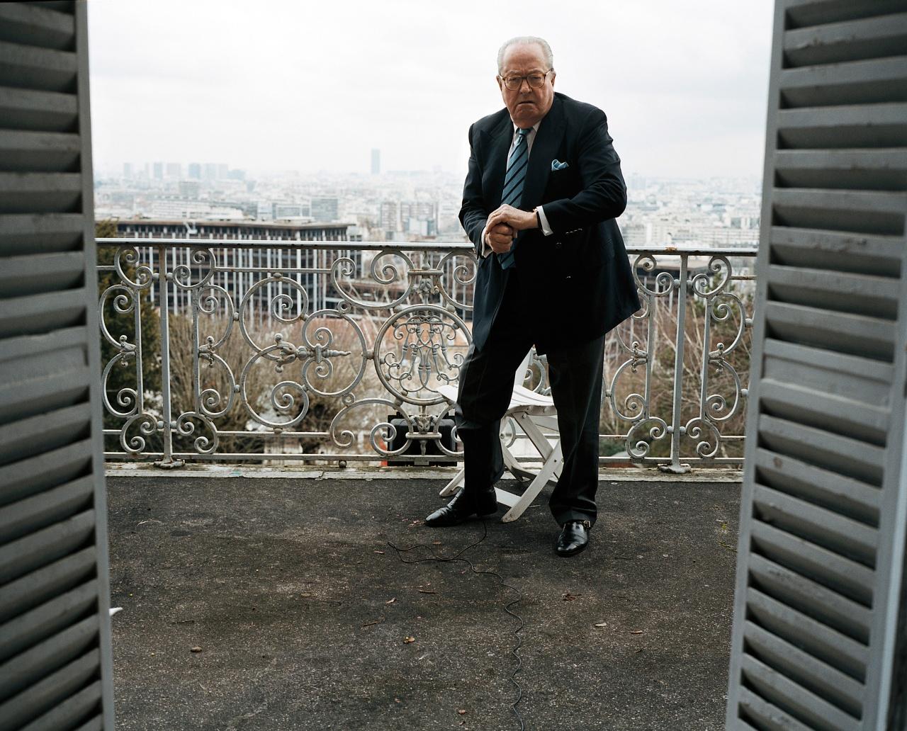 Portrait de Jean-Marie Le Pen