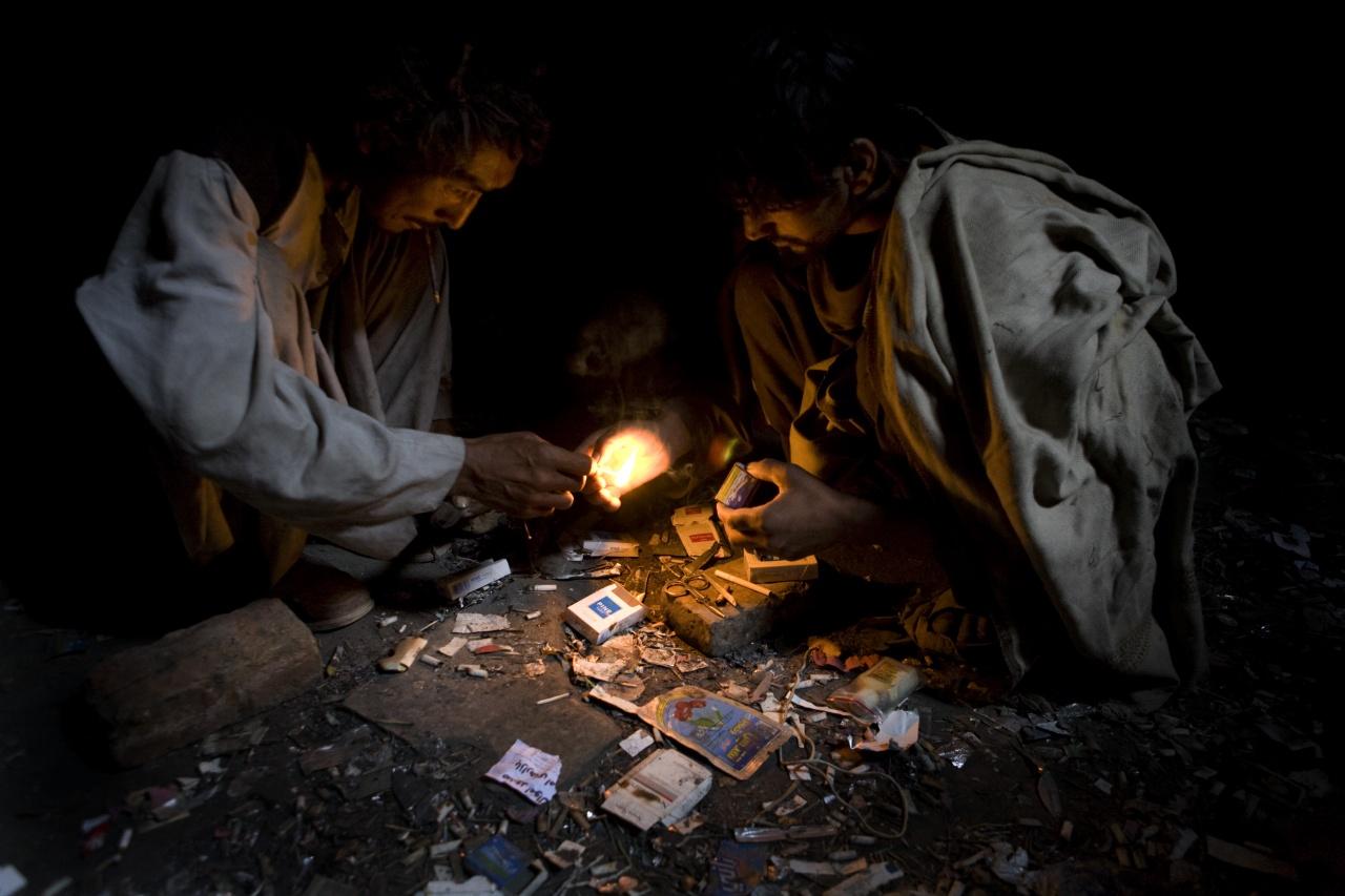 Kabul Opium Smokers
