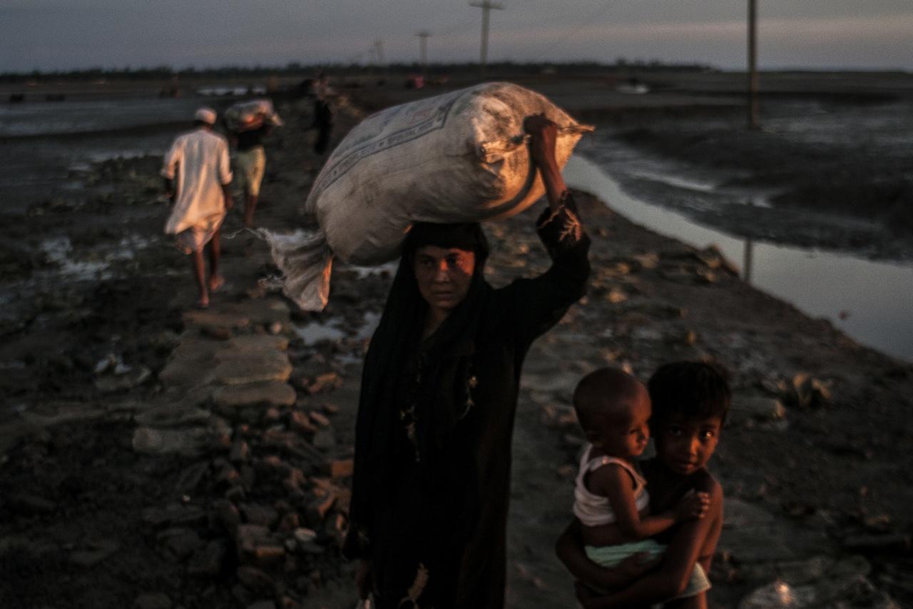 Rohingya refugee Bangladesh