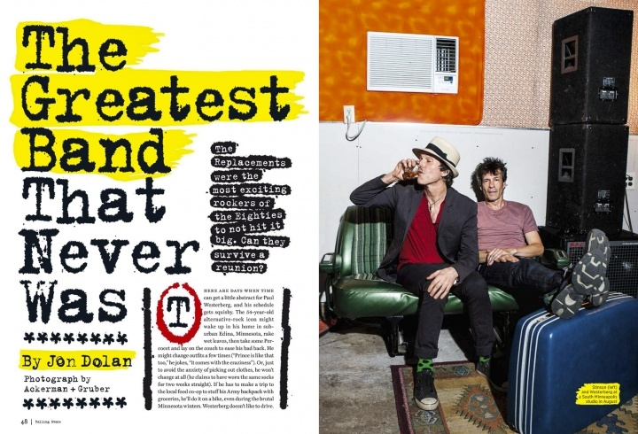 The Replacements for Rolling Stone