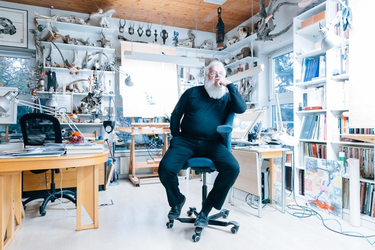Franz Wolf, Bildender Künstler