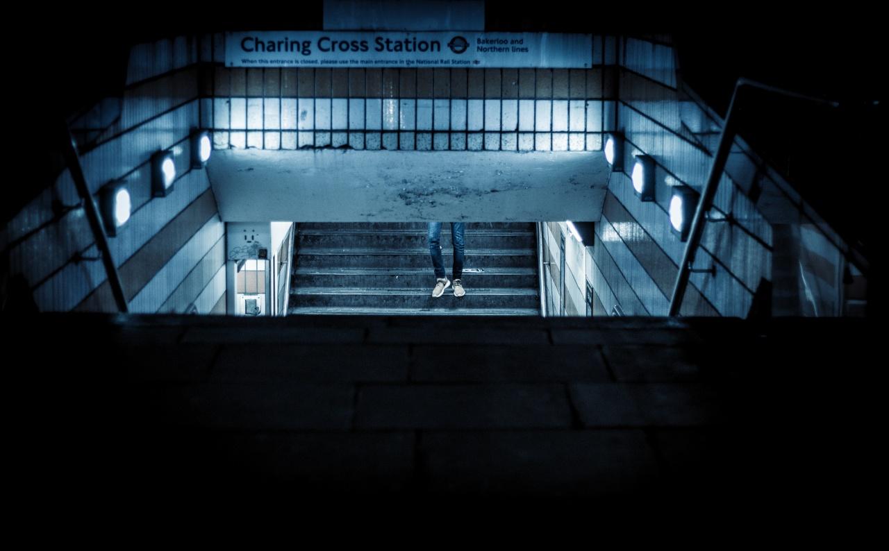 London in the Dark of Night