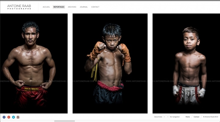 Khmers Boxers, personal series