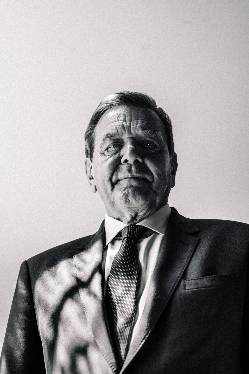 Former German Chancellor Gerhard Schröder