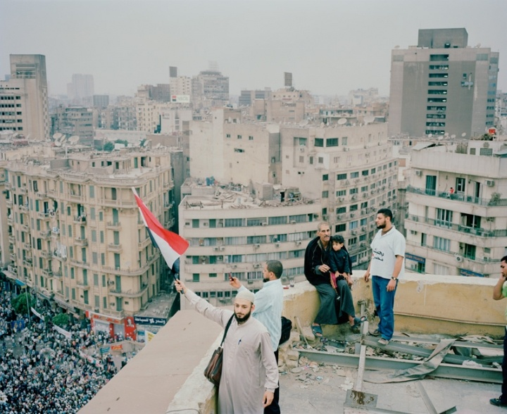 Downtown Cairo, April, 2012