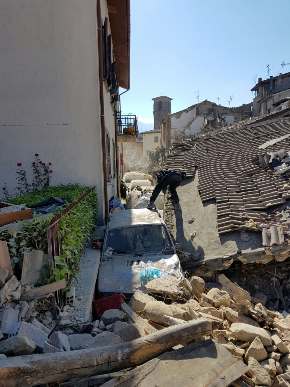 Earthquake in Italy 24 of August 2016