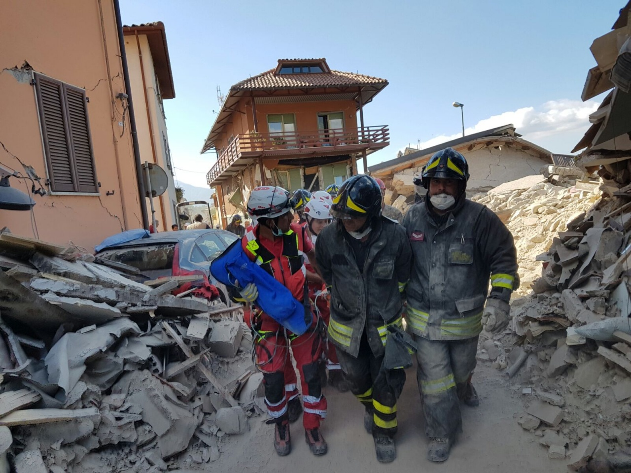 Earthquake in Italy 24 August 2016