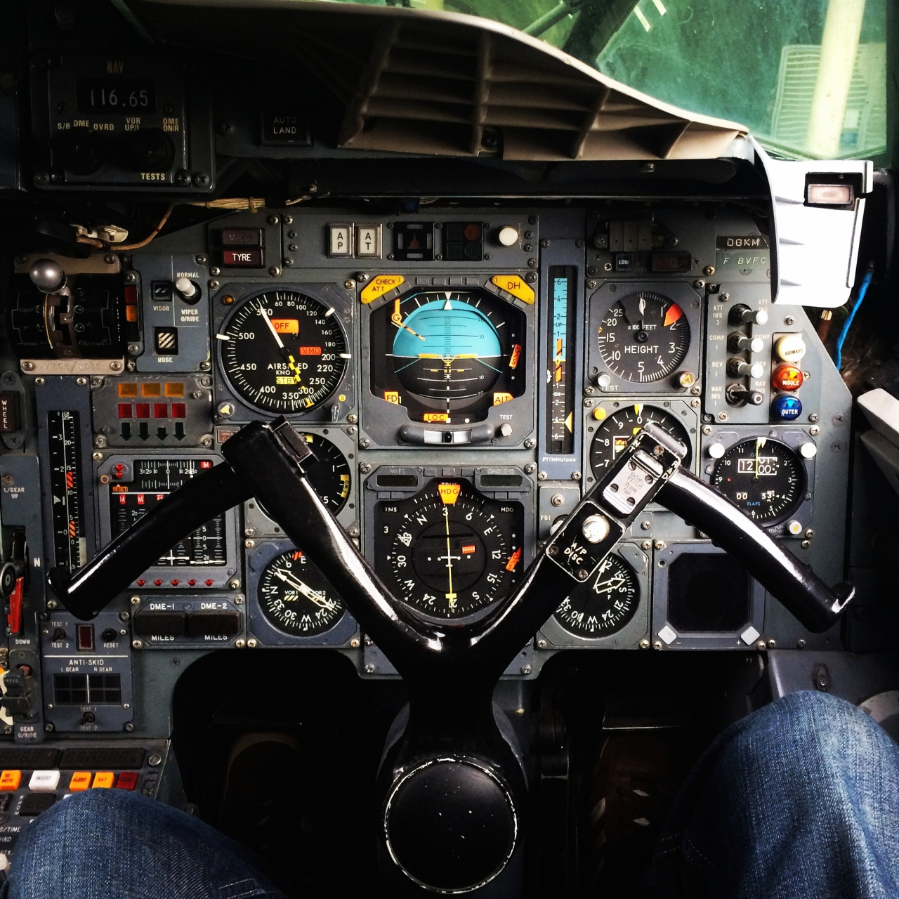 The drivers seat, Concorde