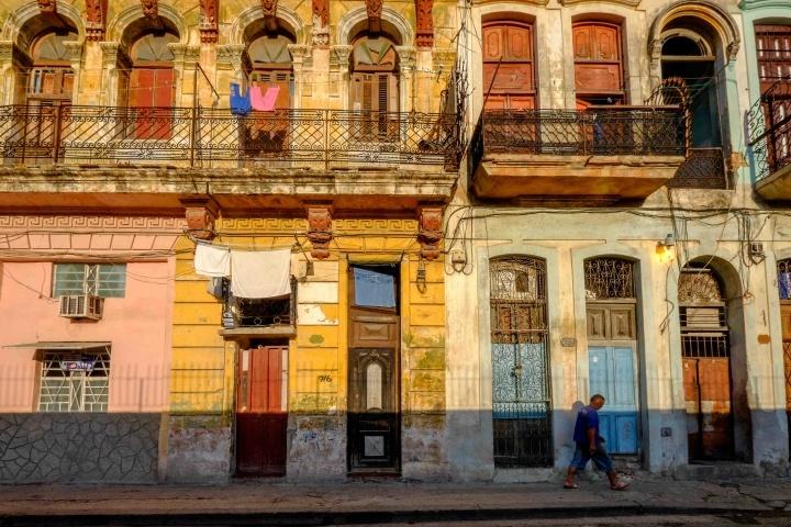 Sunrise, Old Havana, Cuba