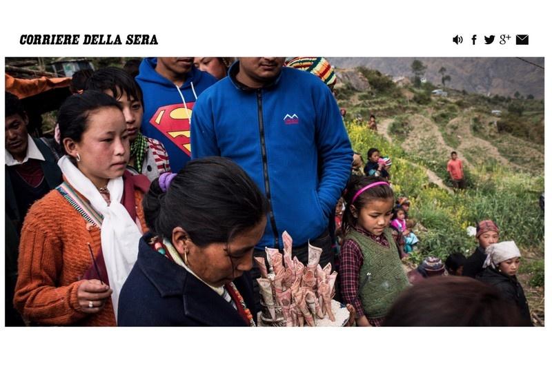 Corriere della Sera - Nepal, Tamang