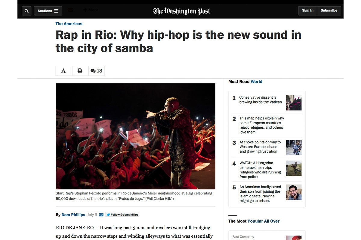 Washington Post Rio rap