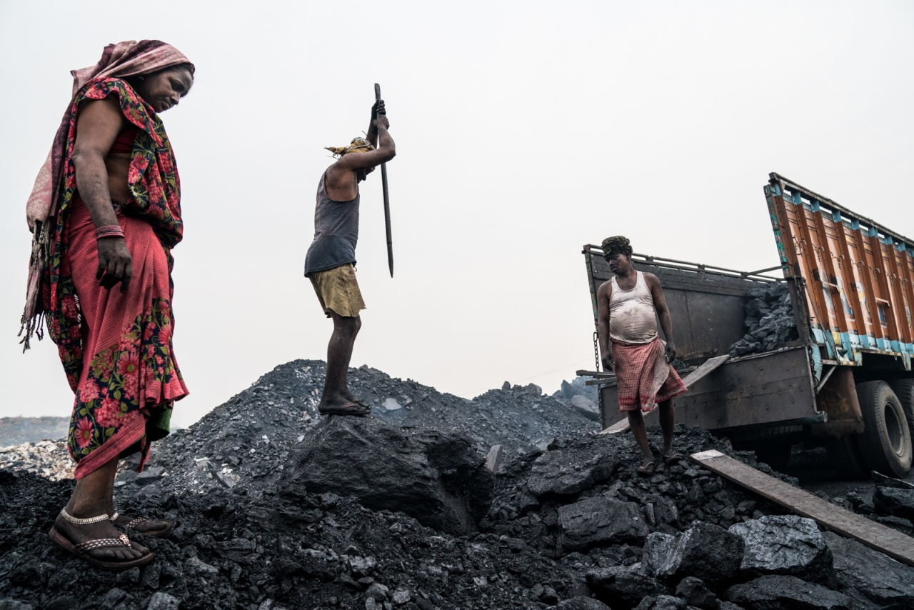 Coal workers, India.