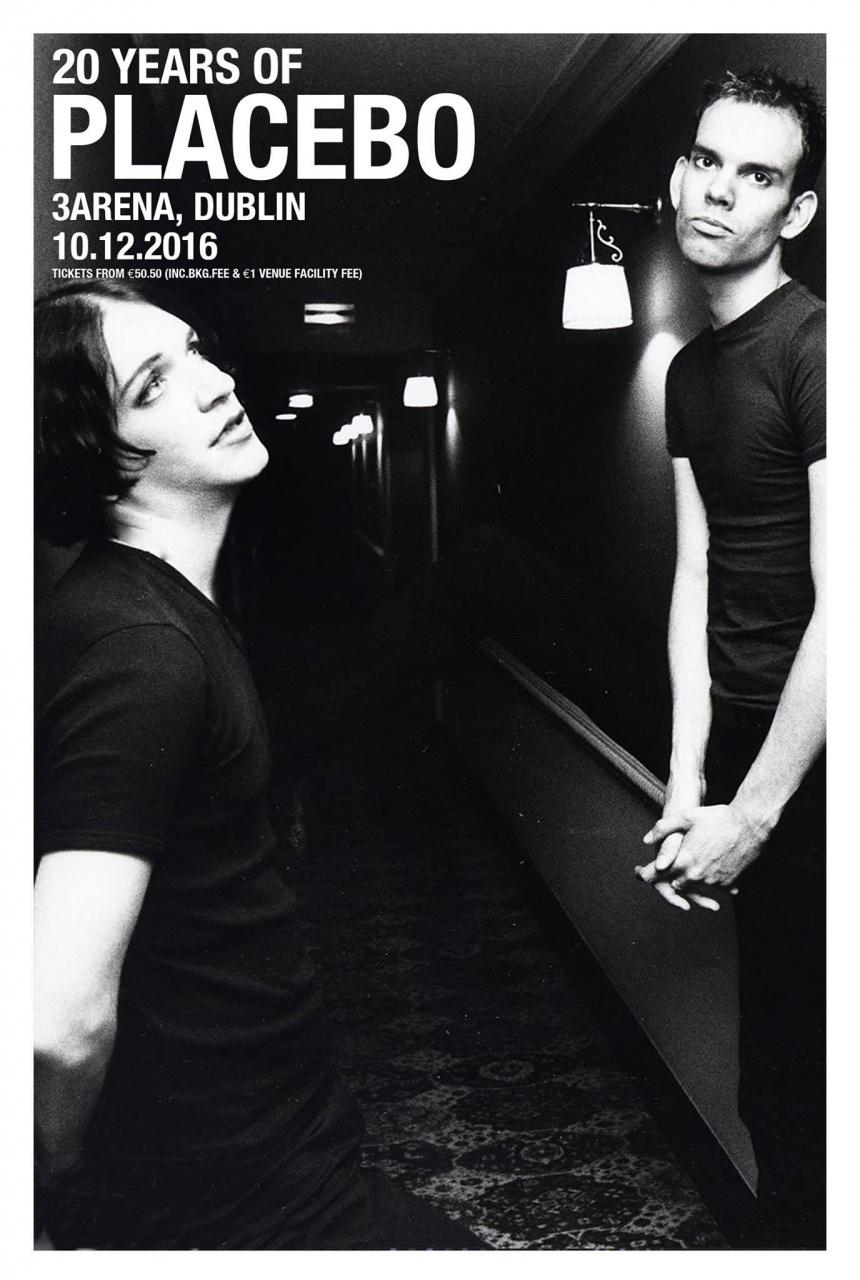 Placebo band for Placebo world tour 2016