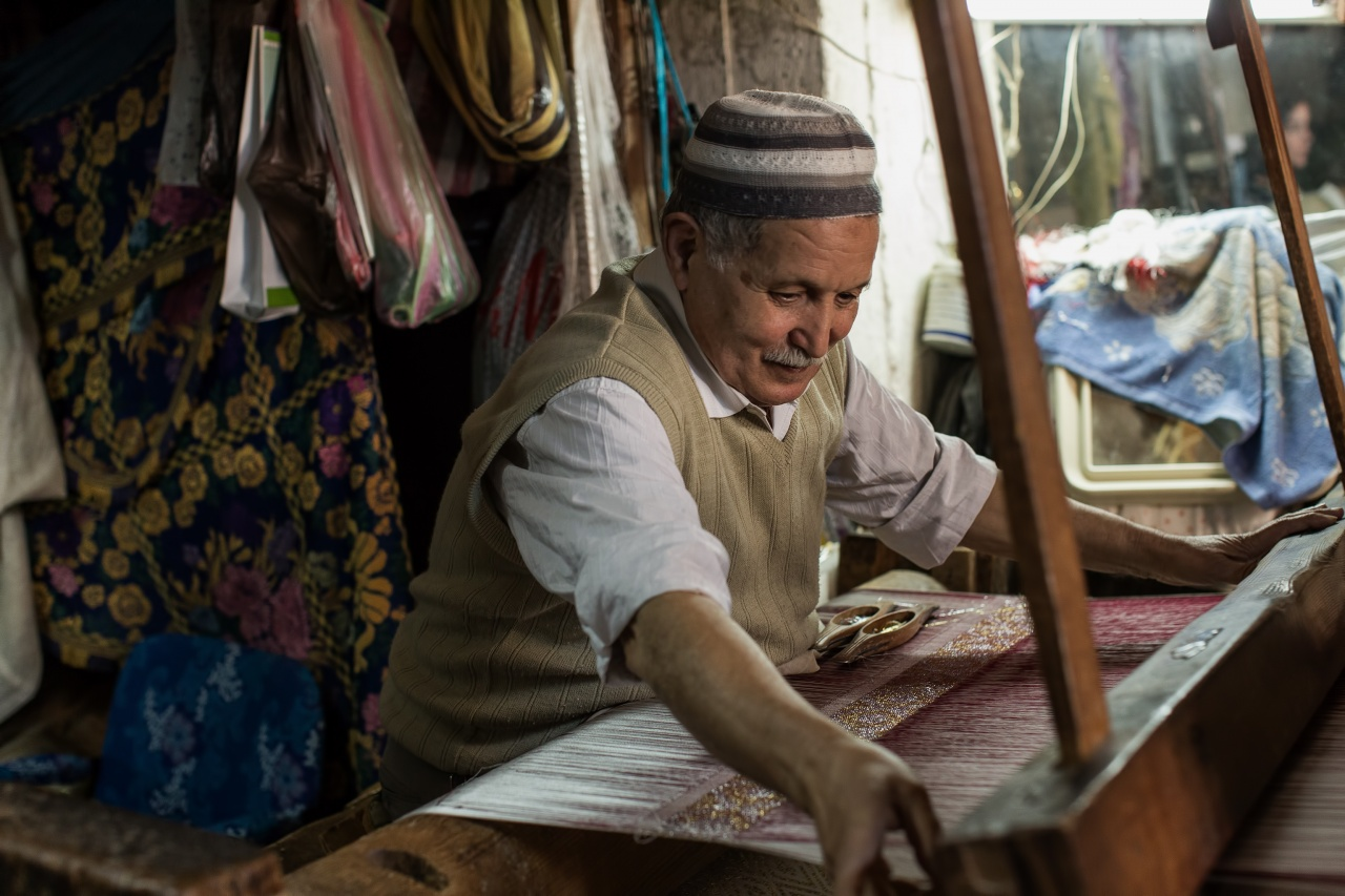 Crafstman in the old town of Fez, Morocco