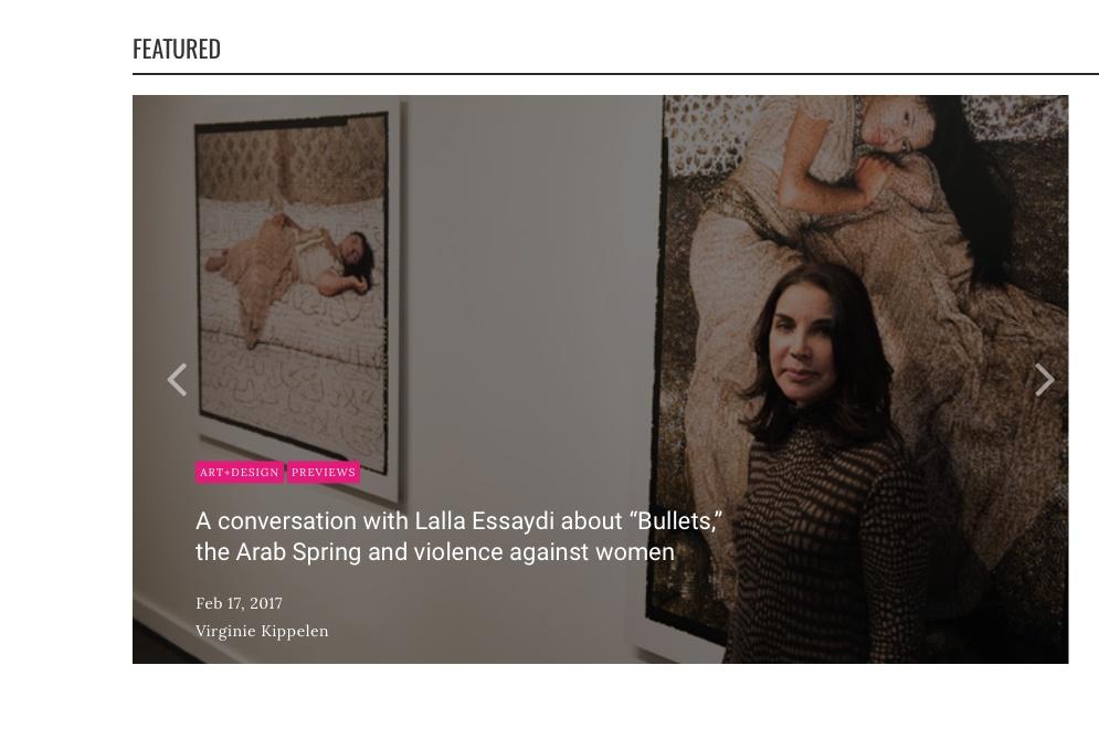 A conversation with Leila Essaydi