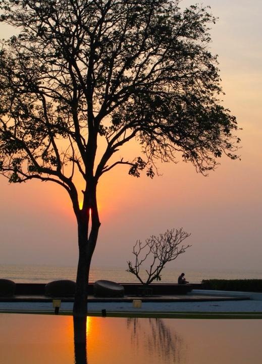 Hue, Thailand at Sunset