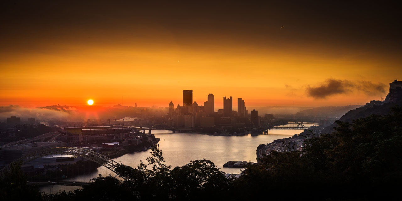 Pittsburgh sunrise