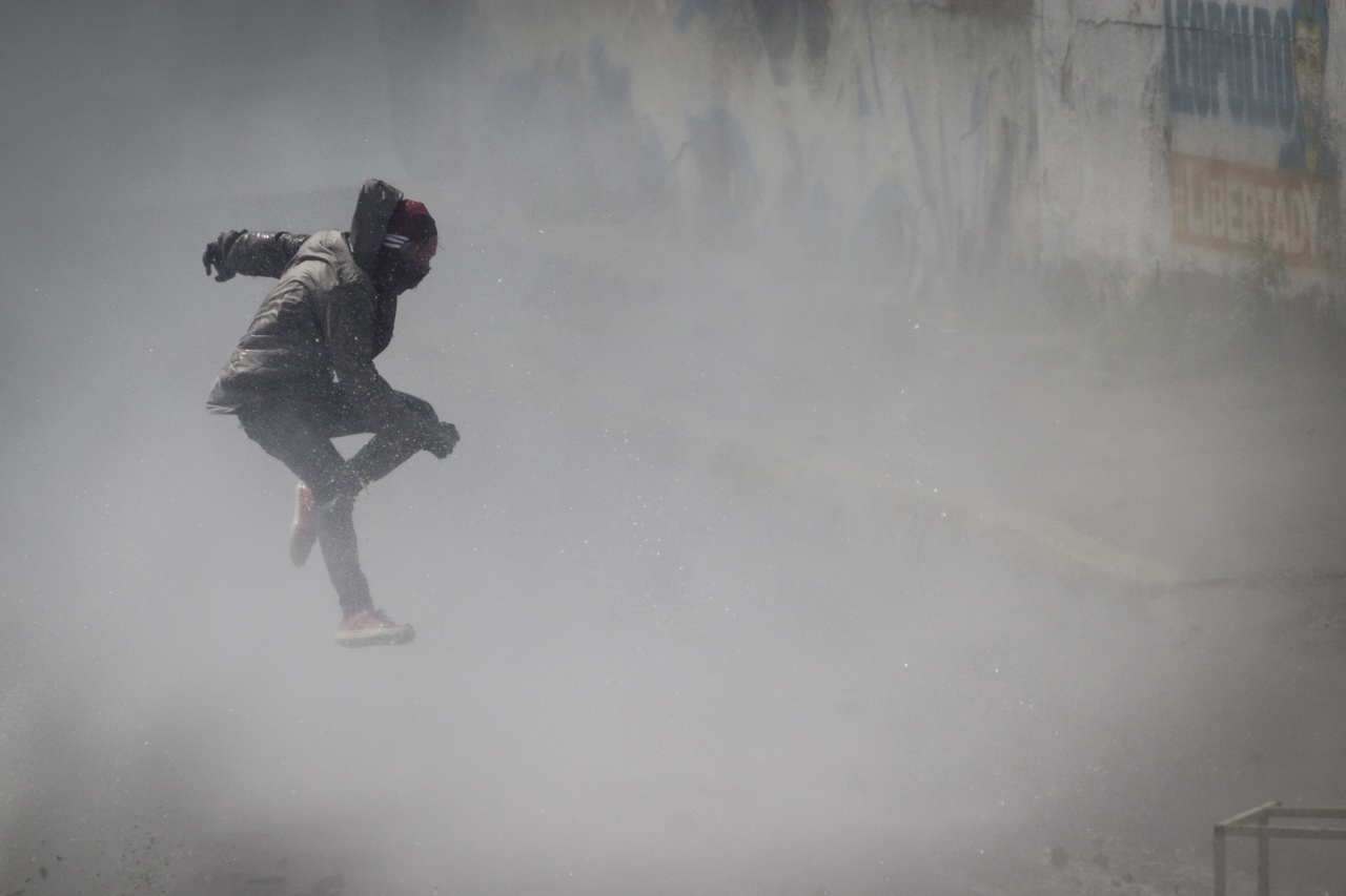 Protestas en Caracas.