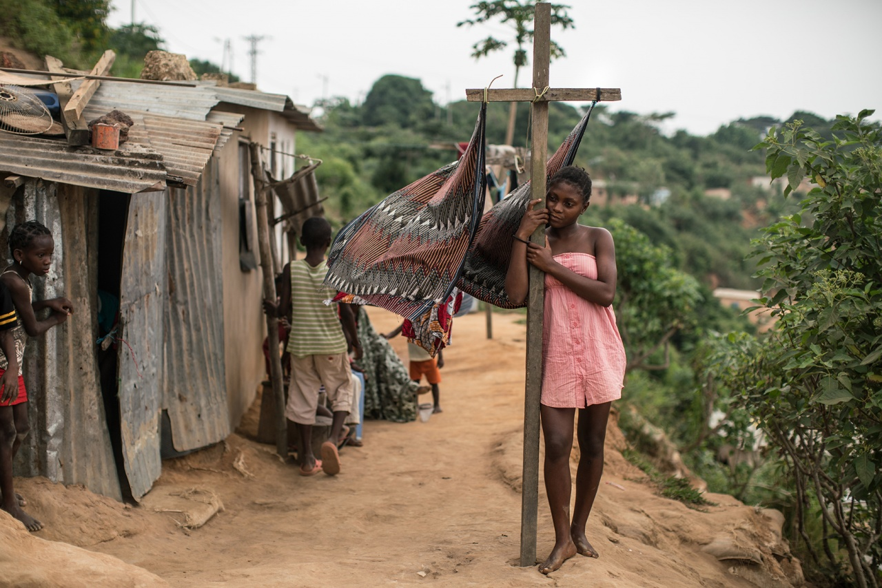 Angola in crisis.