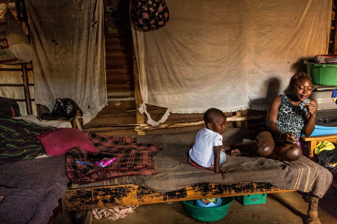 Teenage moms of Kibera