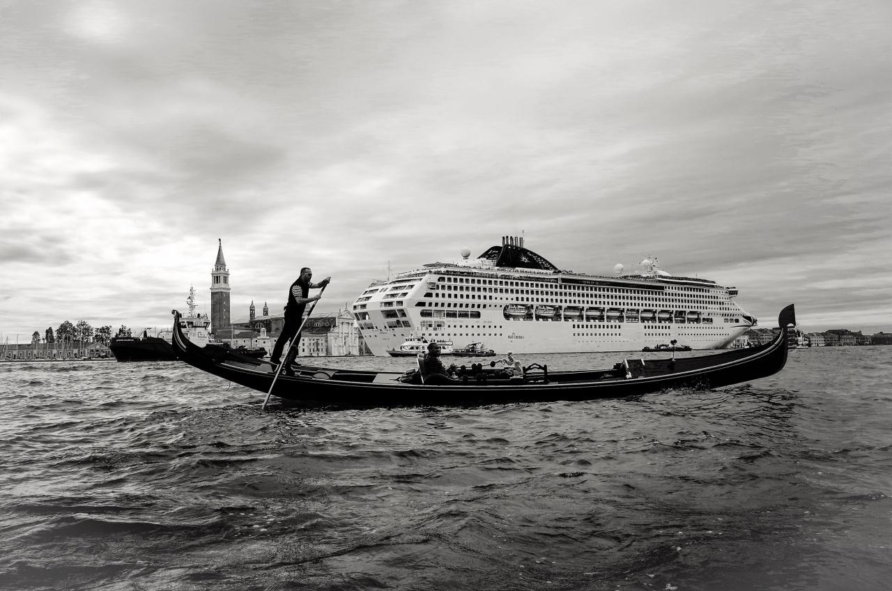 Gondoliere di venezia