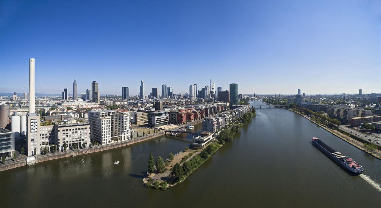 West harbour Frankfurt am Main