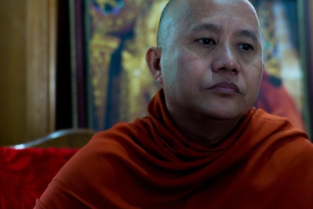 Portrait of Ashin Wirathu