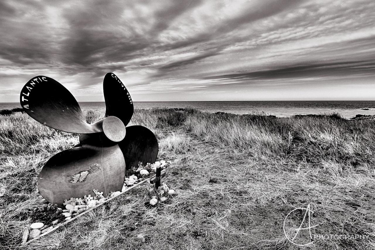Memorial on the Falkland Islands