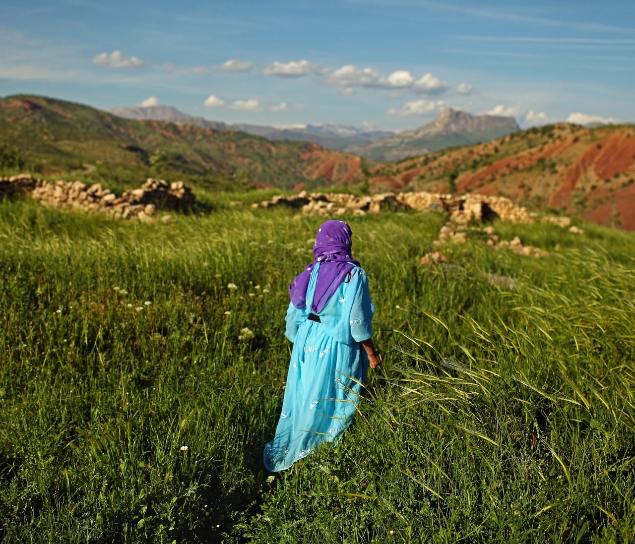 on the hill of Gabar