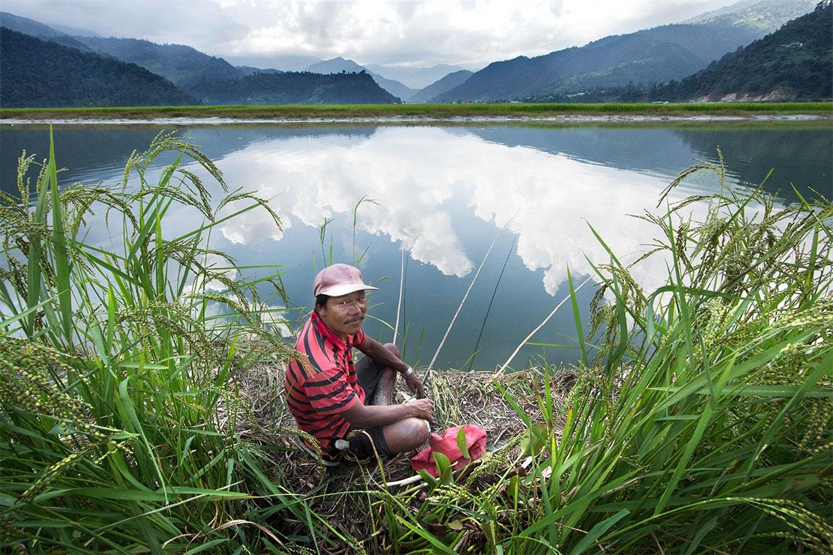 Nepalese Fisherman