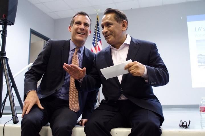 Mayor Garcetti and Councilman Cedillo