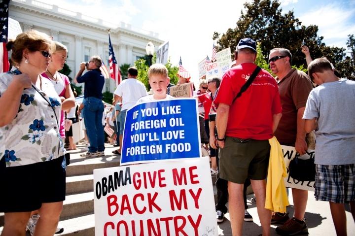 Tea Party Express Rally.
