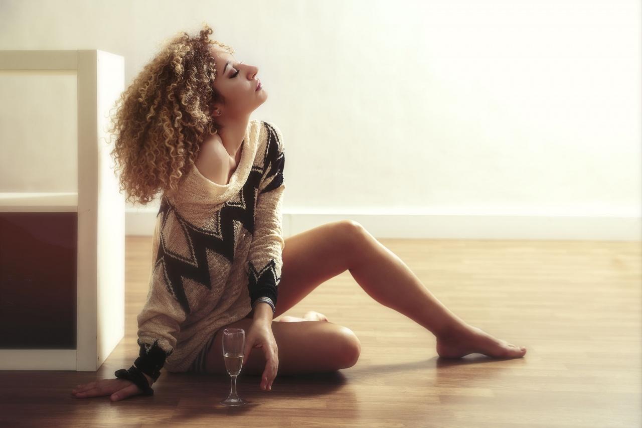 Irene in studio