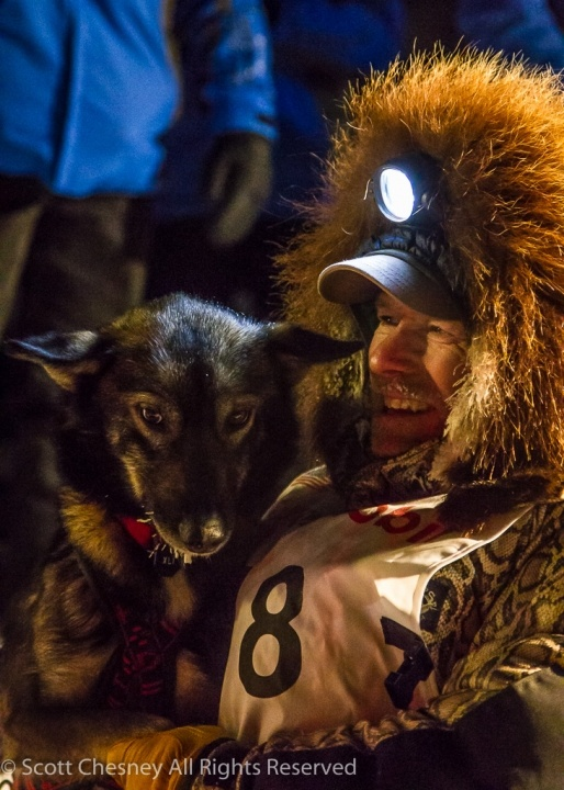 King finishes Iditarod