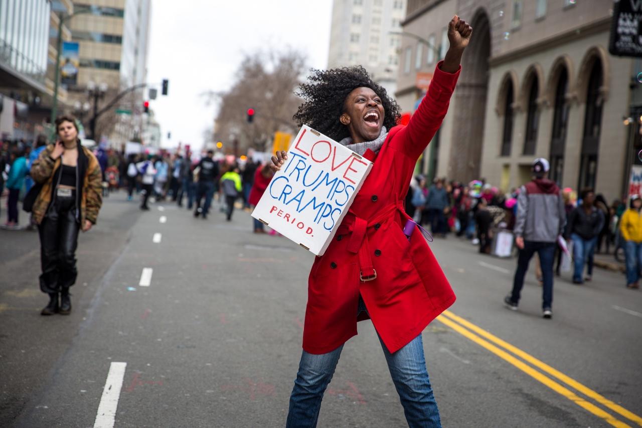Oakland, CA Women's March.