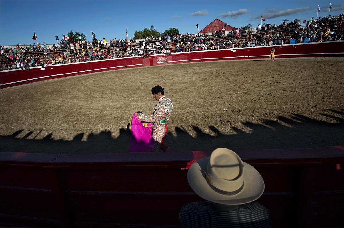 Canadian/Portuguese Bullfighting