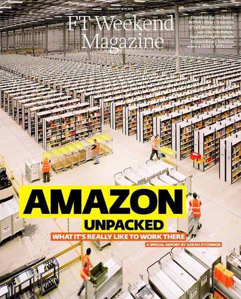 Amazon Unpacked - FT Weekend Magazine