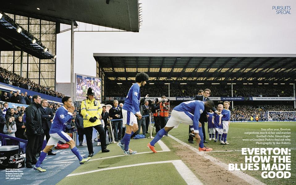 FT Weekend Magazine - Everton Football Club