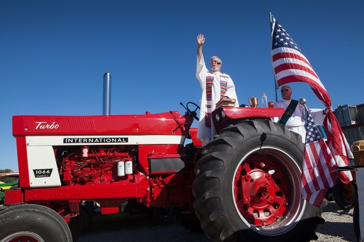 Blessing of the Tractors