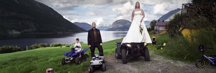 The wedding of Trine and Geir Dvergsdal