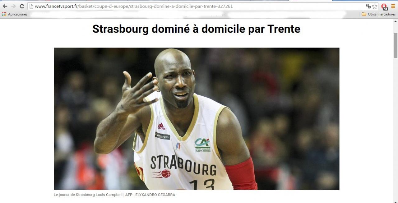 Basket, SIG Strasbourg