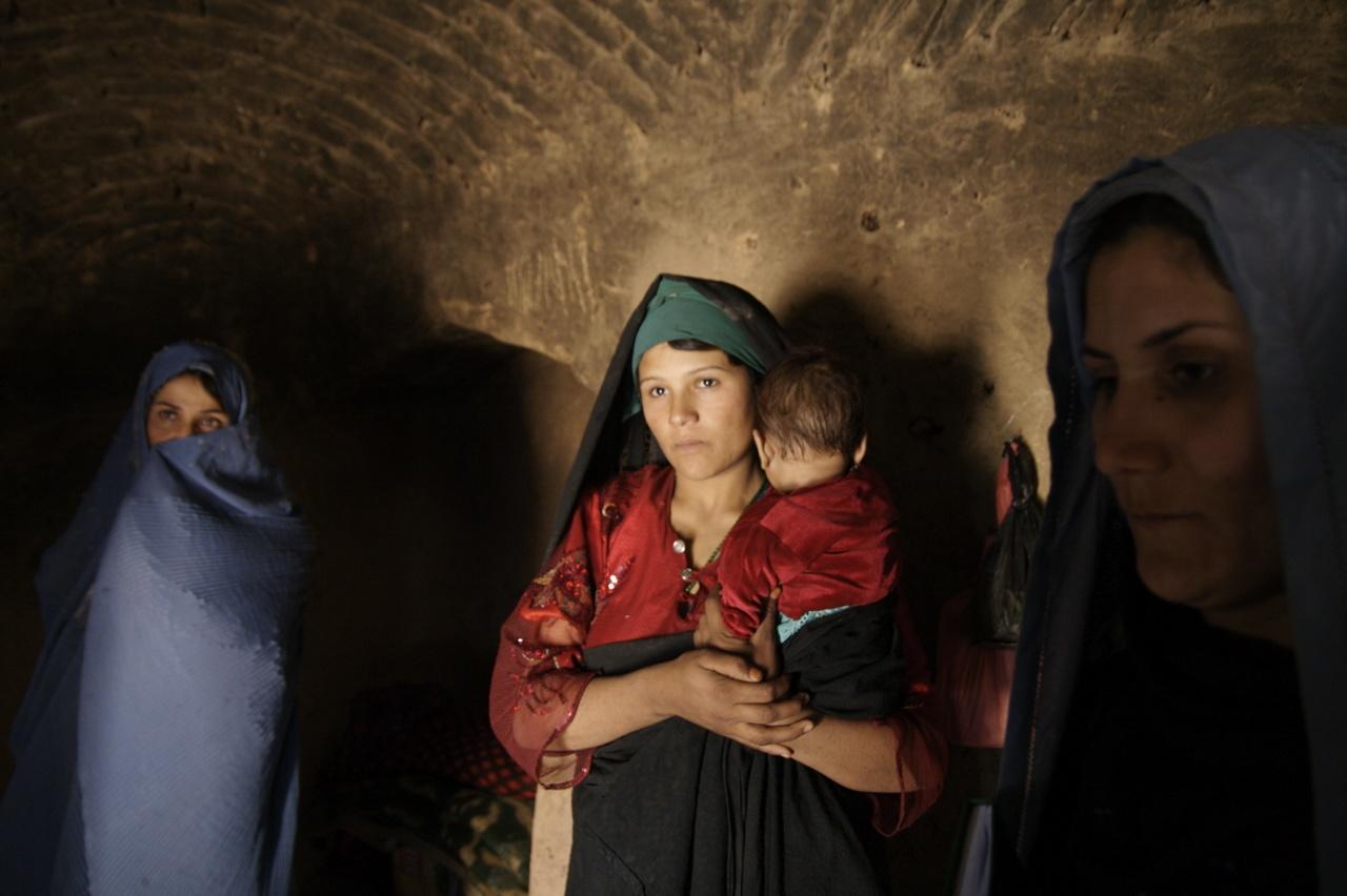 Afghan tribal woman