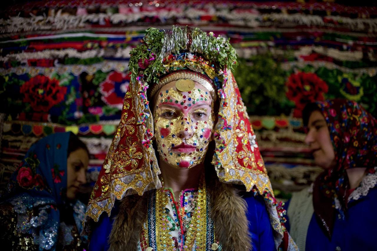 A wedding mask